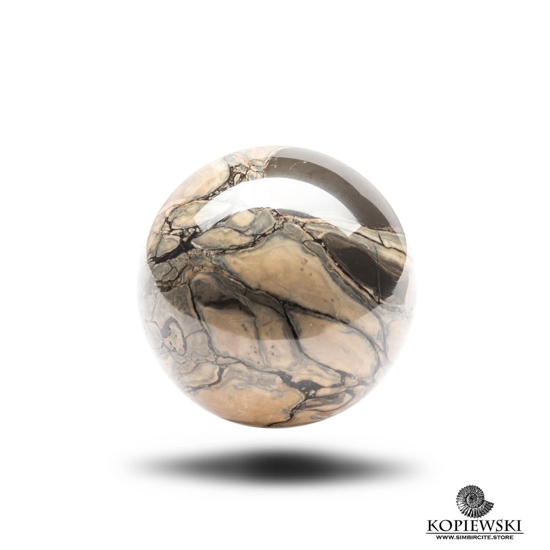 Шар из камня Сенгилит Ø 50-55 мм