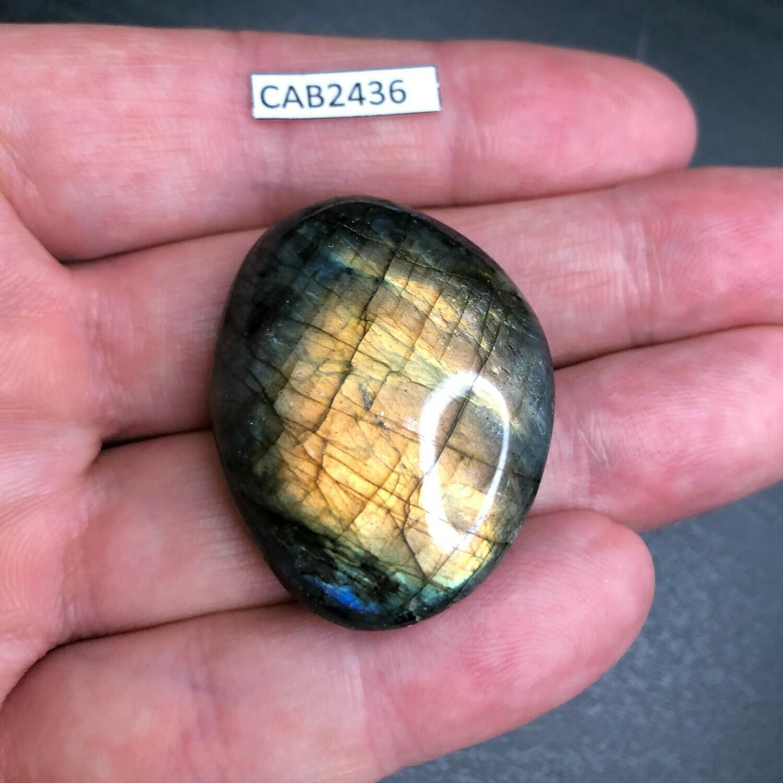Labradorite tumbled stone