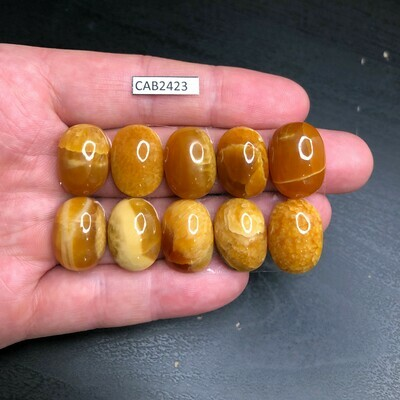 Simbircite Calibrated Cabochons 14*16 mm (10 pieces)