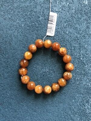 Simbircite stone bracelet (yellow)  Ø 11 mm