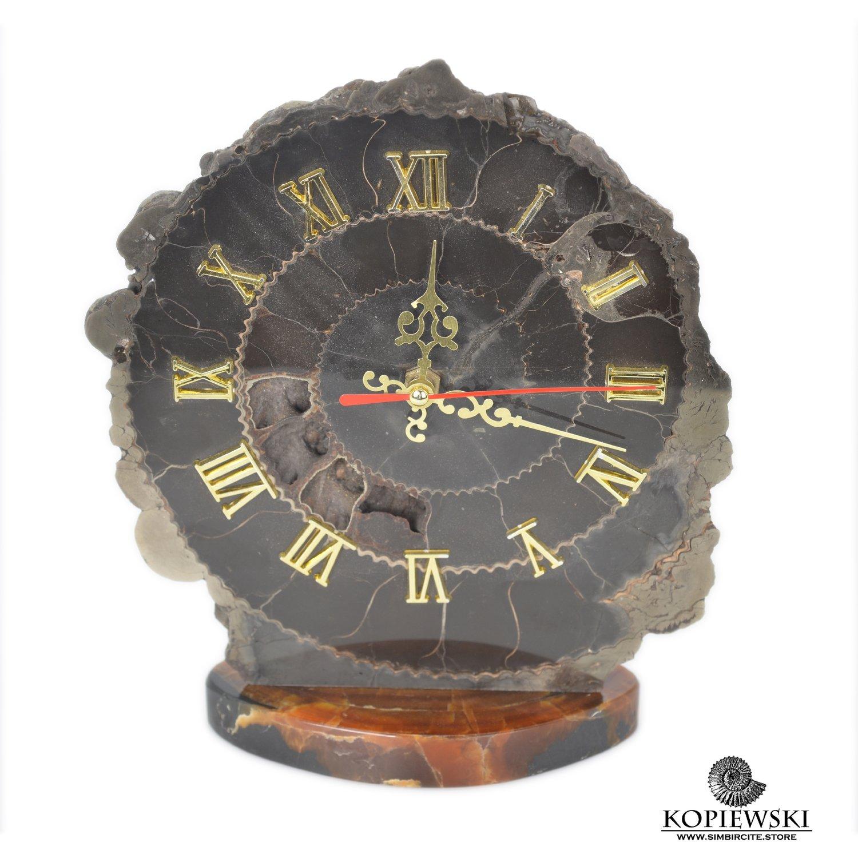 Часы срез Аммонита