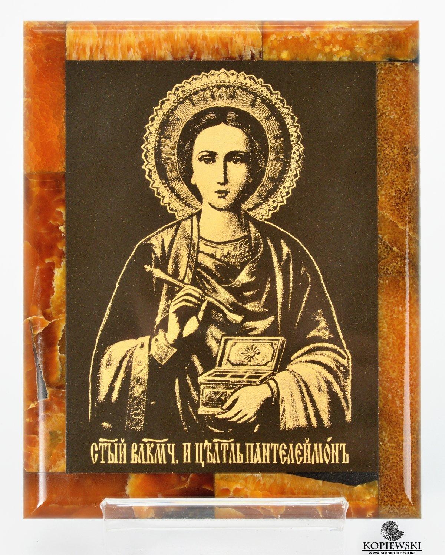 Симбирцитовая икона Великомученик Пантелеймон
