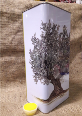 Lattina 5 lt. con tappo (confezione 12 pz.) 148x120x315 h