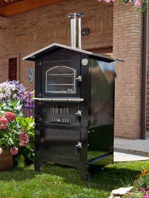 forno da esterno serie  JOLLY KJE 6048 -piano cottura: 60 x 48 h42 - Tranquilli Forni   SPEDIZIONE GRATUITA