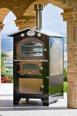 forno da esterno serie GIOVE KTM 8065 - piano cottura: 80 x 65 h44 - Tranquilli Forni  SPEDIZIONE GRATUITA