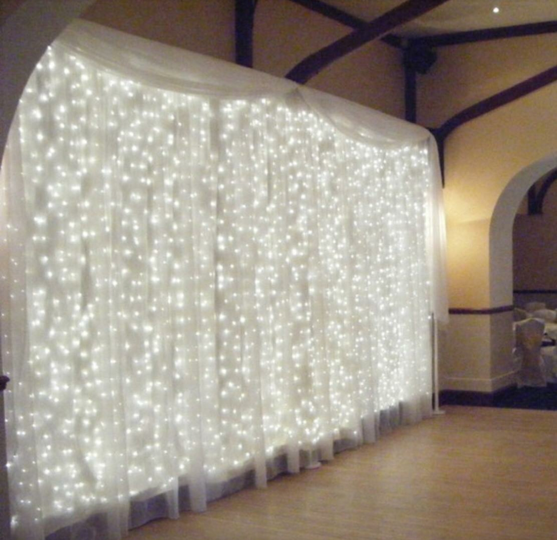 304 LED 10 x 10 Lights and Curtain Wedding Backdrop $30-$190  sold separately