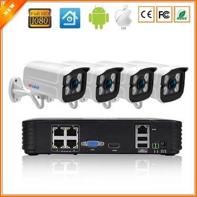 CCTV Full HD camera systeem met 4 cameras