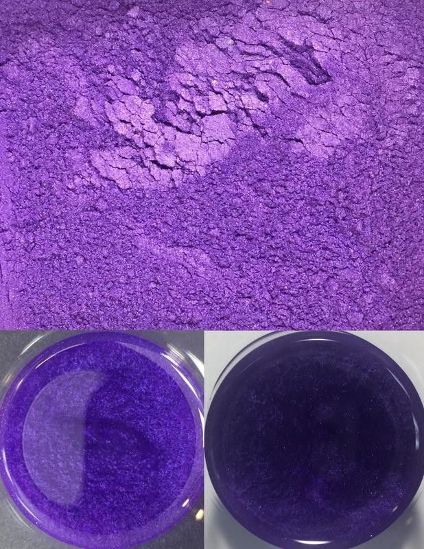 metallic pigments purple/pigments métalliques violet