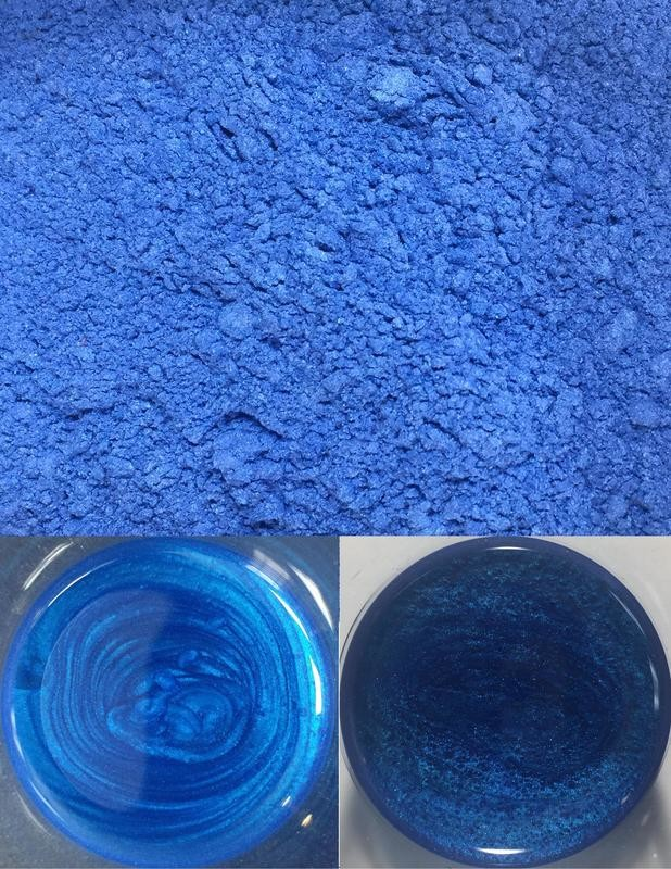 metallic pigments midnight blue/pigments métalliques bleu minuit