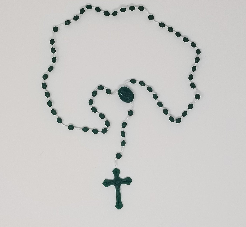 St. Jude Plastic Rosary