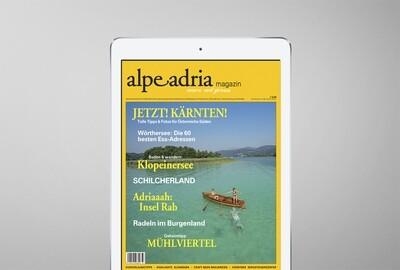 Alpe Adria Magazin & Alpe Adria Guide Digital-Jahresabo