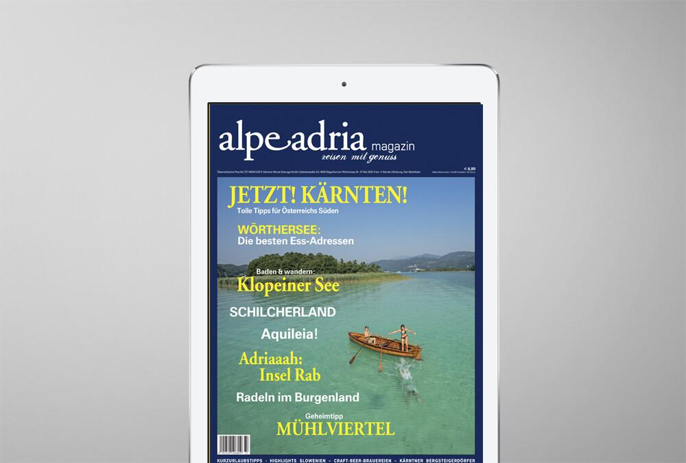 Alpe Adria Magazin Deutschland Einzelausgabe PDF Download