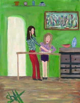 Art - Higgins, Irene C. -
