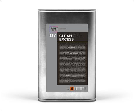 Smart Open 07  CLEAN EXCESS - деликатный очиститель битума и смолы, 1л