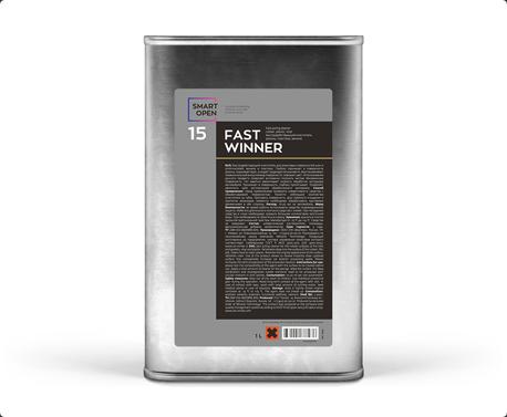 Smart Open 15 Fast Winner - очиститель резины, пластика, винила 1 л,