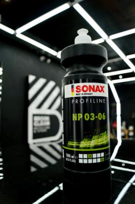 SONAX NP 03-06  Полироль для восстановления блеска твердых лаков