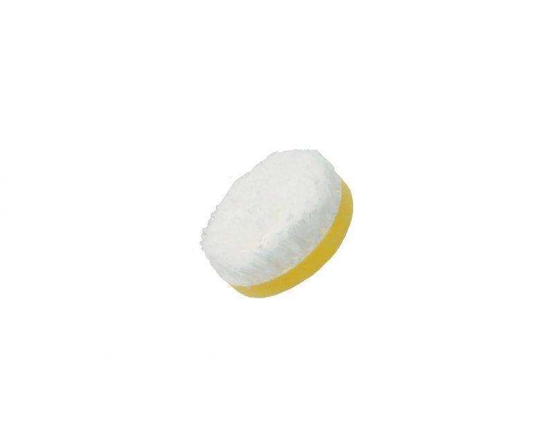 """Flexipads 55 мм БЕЛЫЙ режущий микрофибровый диск / ∅55mm (2"""") DA Microfibre CUTTING Disc"""