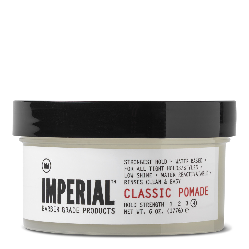 Imperial Barber Classic Pomade - Воск для укладки волос сильной фиксации 177 мл