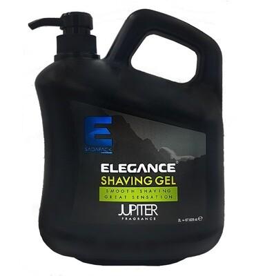 Elegance Plus Shaving Gel Jupiter - Гель для бритья 2000 мл