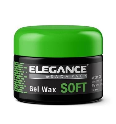 Elegance Soft Hair Gel Wax - Мягкий гель-воск для волос с аргановым маслом 100 мл