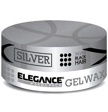 Elegance Silver Gel Wax - Гель Воск с пепельно-матовым эффектом 140 гр