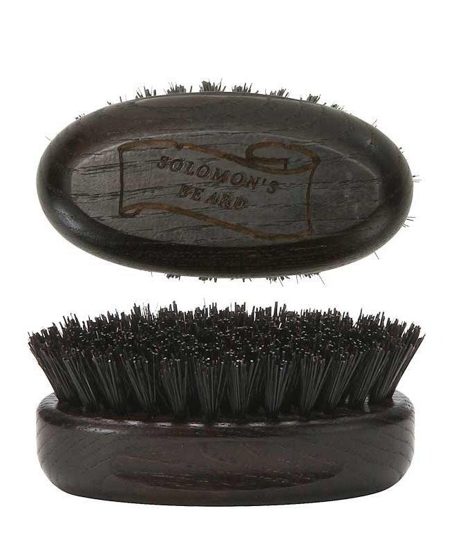 Solomon's Beard Brush - Щетка малая для бороды темная