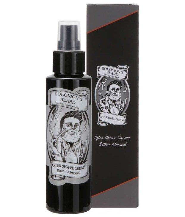 Solomon's Beard Bitter Almond Aftershave - Крем после бритья 100 мл