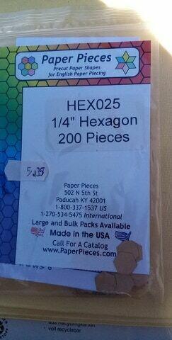 """HEXAGON 1/4"""""""