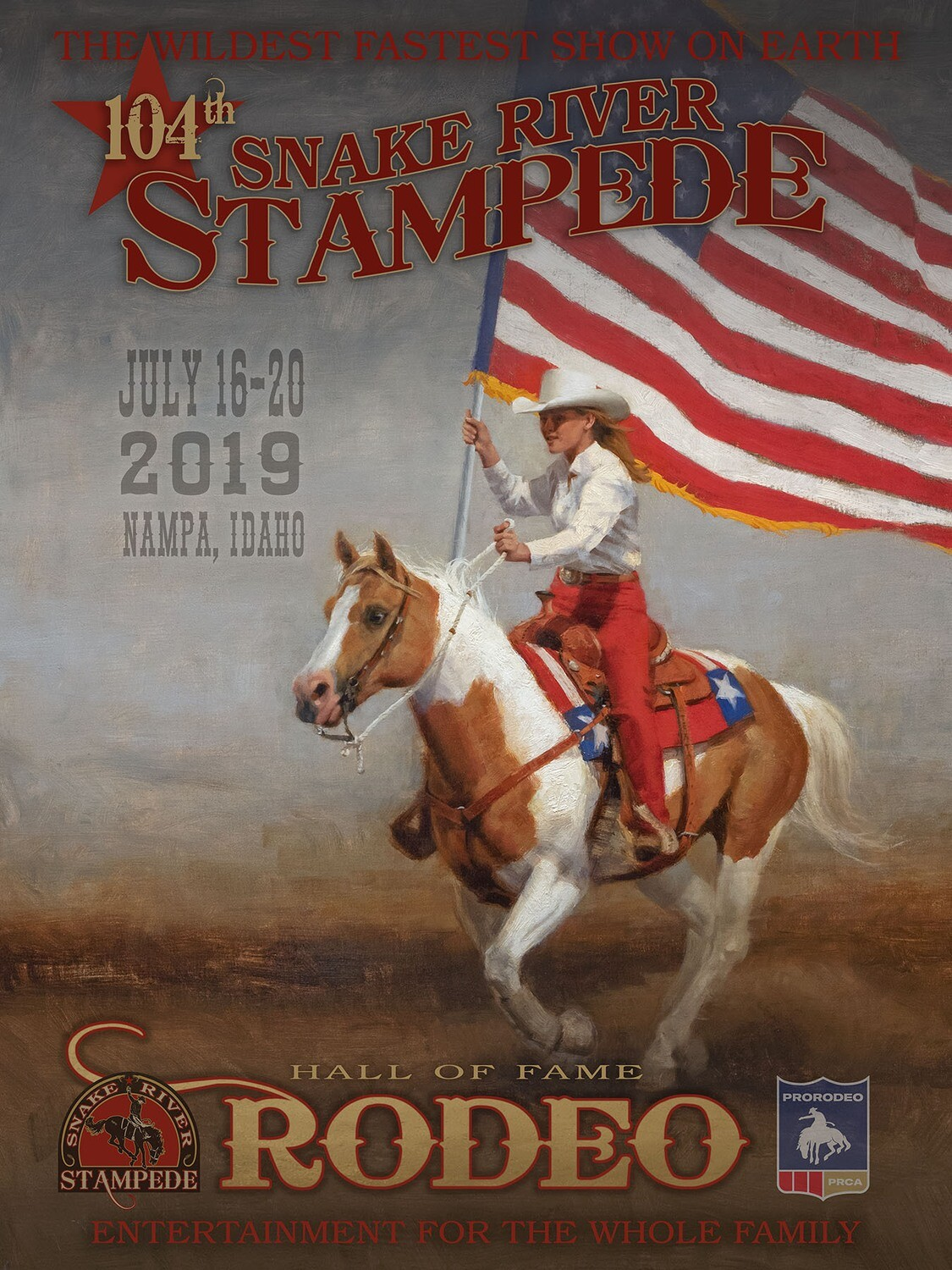 2019 OFFICIAL RODEO POSTER