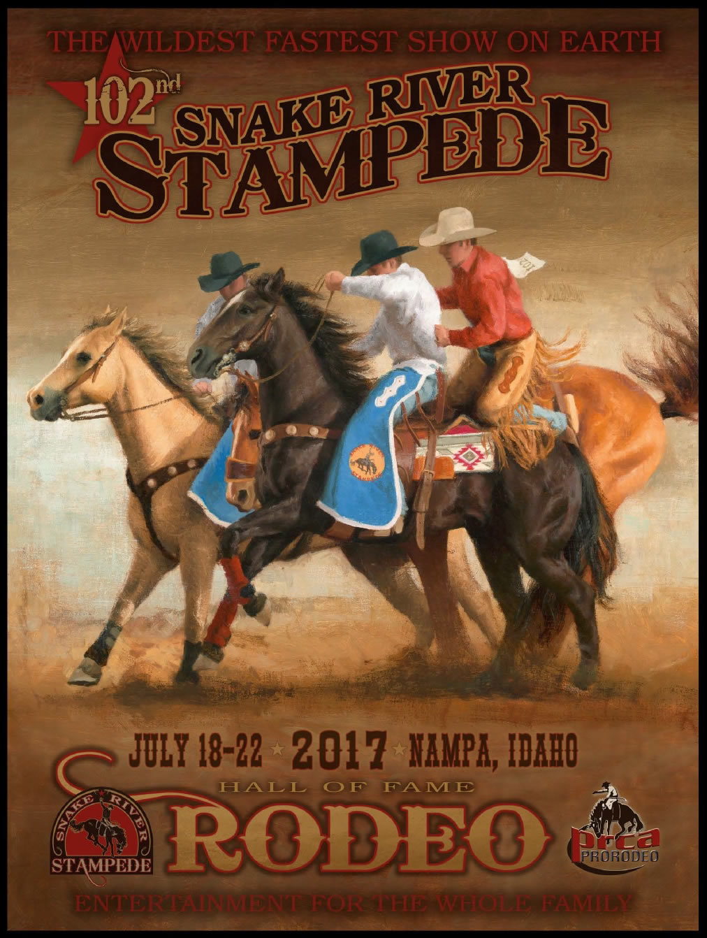 2017 OFFICIAL RODEO POSTER