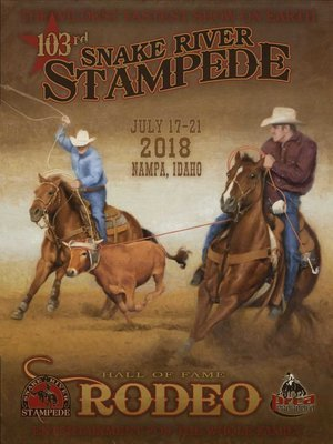 2018 OFFICIAL RODEO POSTER