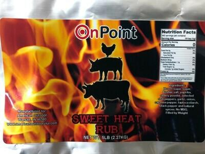 On Point- Sweet Heat- 5 lb