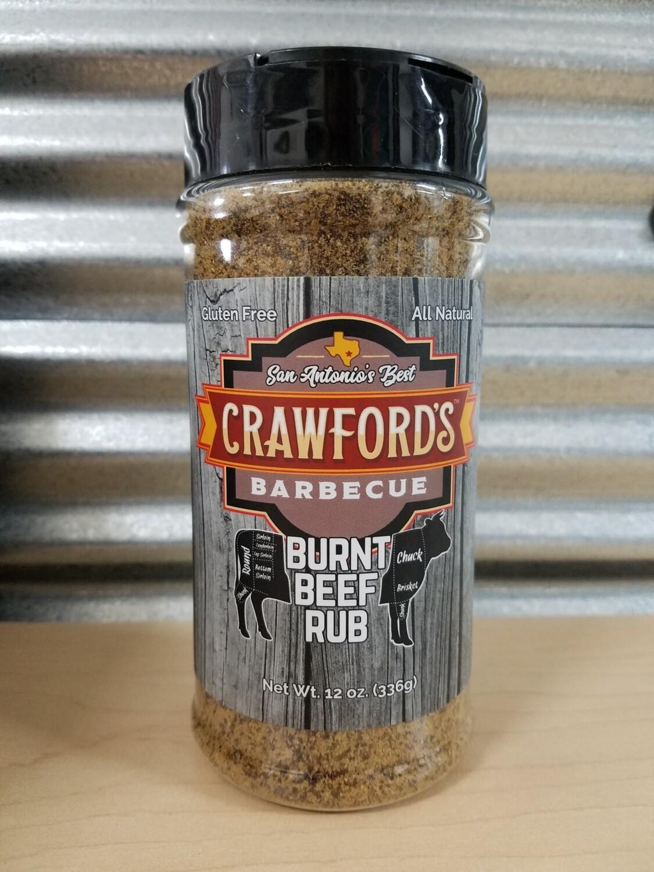 Crawfords BBQ- Burnt Beef BBQ Rub