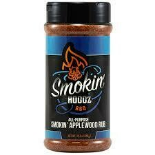 Smokin Hoggz All-Purpose Smokin Applewood Rub 12 oz.