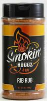 Smokin Hoggz Rib Rub 12 oz.