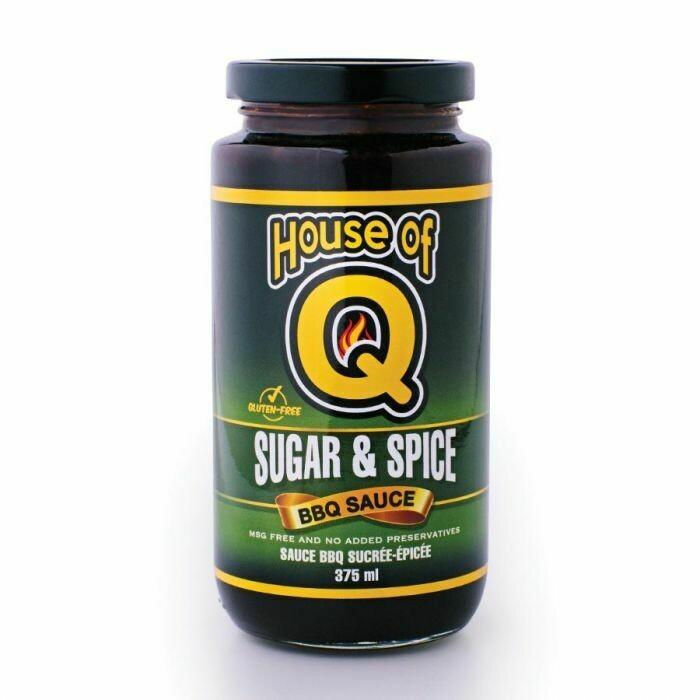 House of Q- Sugar & Spice BBQ Sauce