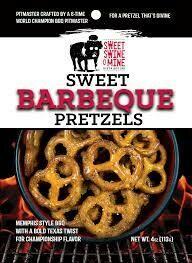 Sweet Swine O' Mine Barbecue Pretzels