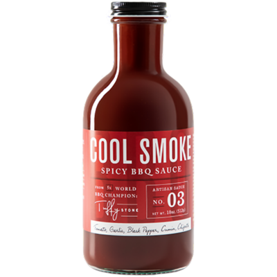 Cool Smoke Spicy BBQ Sauce- 18oz