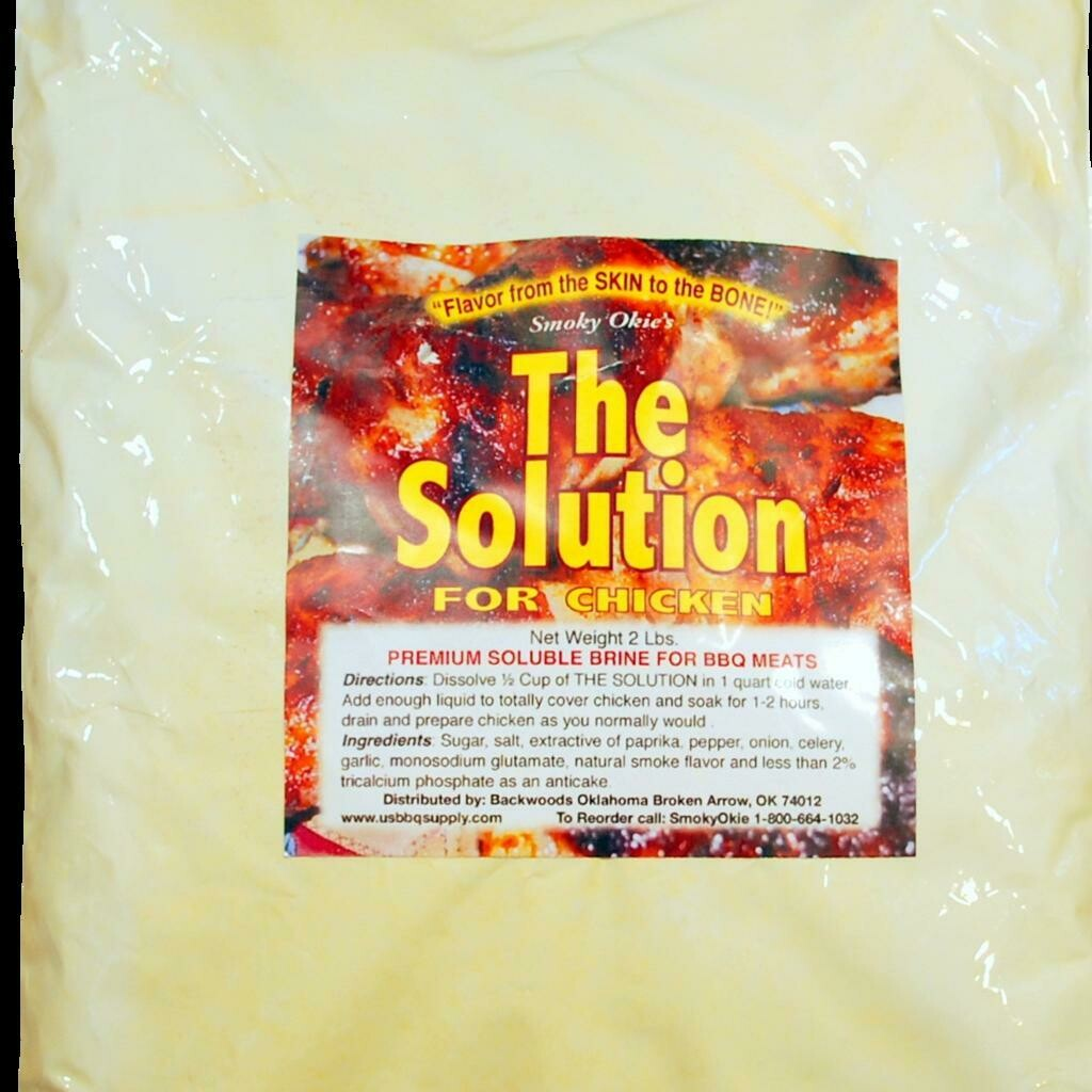 Smoky Okie's The Solution for Chicken, 2lb Bag
