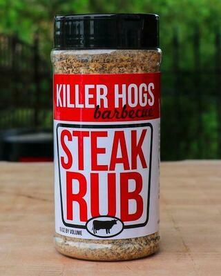Killer Hogs- Steak Rub- 16 oz