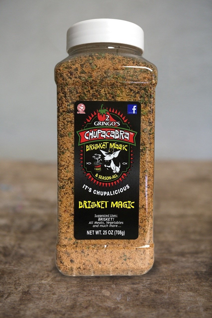 2 Gringos Chupacabra Rub-Brisket Magic 25oz