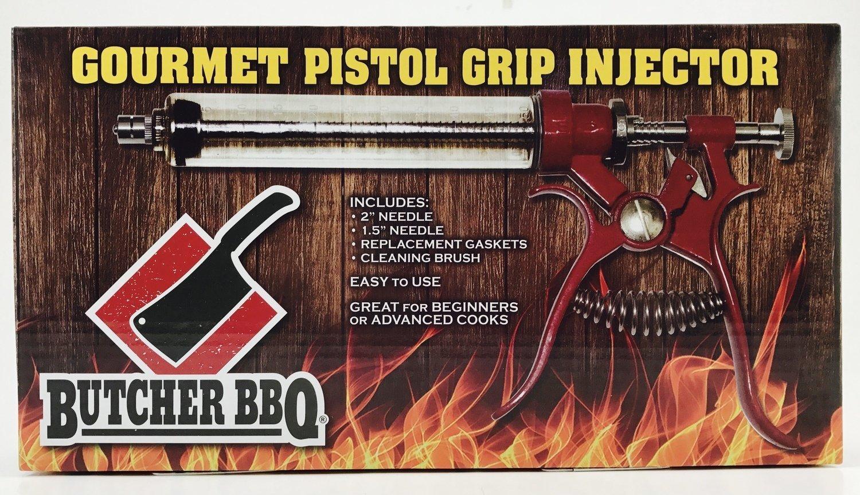 Butcher BBQ- Pistol Grip Gourmet Meat Injector