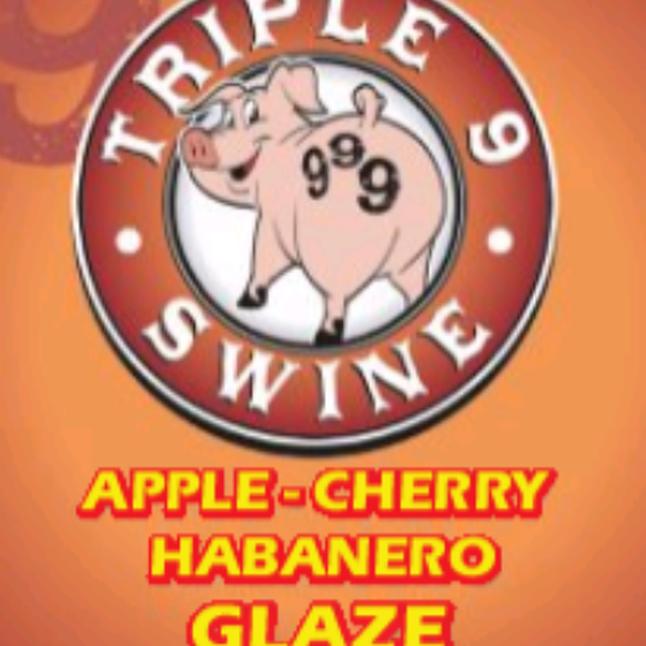 Triple 9 Swine Apple Cherry Habanero Glaze