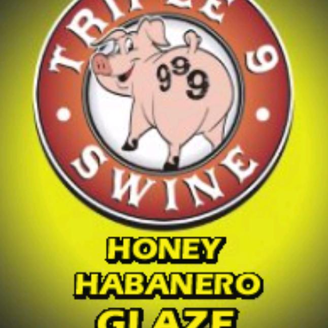 Triple 9 Swine Honey Habanero Glaze