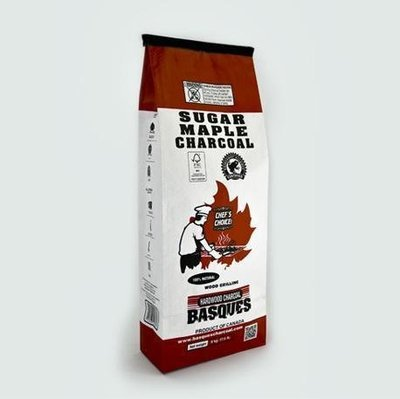 Basques Sugar Maple Charcoal (17.6lb Bag)