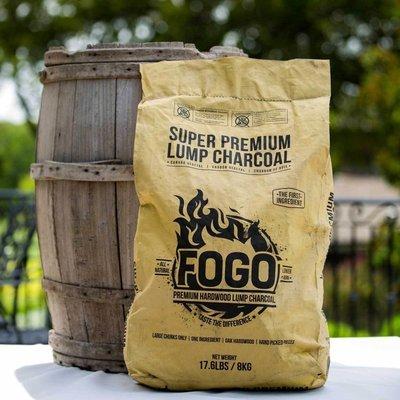 Fogo 17.6-pound Super Lump Premium Hardwood Charcoal Bag