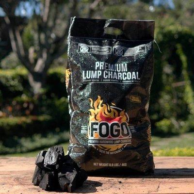 Fogo Premium 17.6-pound Hardwood Lump Charcoal Black Bag