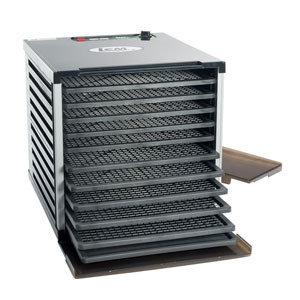 LEM Mighty Bite 10 Tray Double Door Countertop Dehydrator
