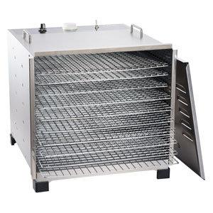 LEM Big Bite Stainless Steel Dehydrator w/Chrome Plated Trays (10 Tray)
