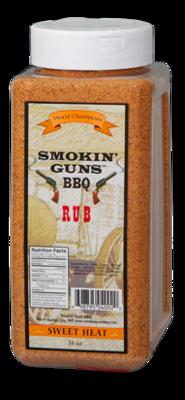 Smokin Guns- Sweet Heat 8 lb Rub